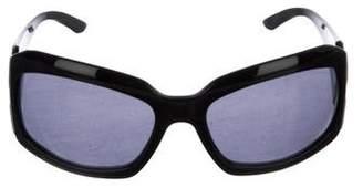 Bvlgari Oval Tinted Sunglasses