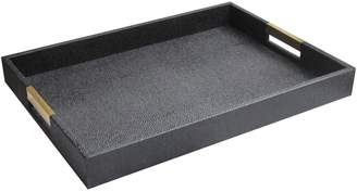 Jay Import Black Handled Tray
