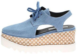 Stella McCartney Denim Shoes Elyse Wirh Platform