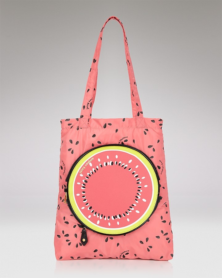 Juicy Couture Fruit Salad Zip-Up Tote