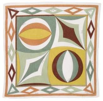 Emilio Pucci Woven Print Scarf