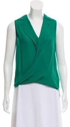 L'Agence Silk Sleeveless Tunic