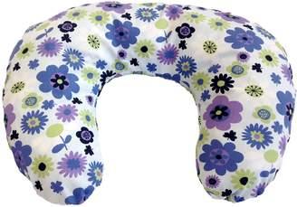 It's A Baby Nursing/Feeding Cushion (Flower Power Blue and Lilac)