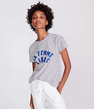 Lou & Grey Style Club Femme Libre Tee