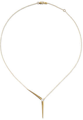 Melissa Kaye - Aria 18-karat Gold Diamond Necklace