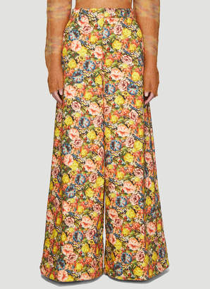 Marni Melville Print Jeans in Yellow