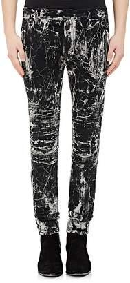 Balmain Men's Skinny Moto Jeans
