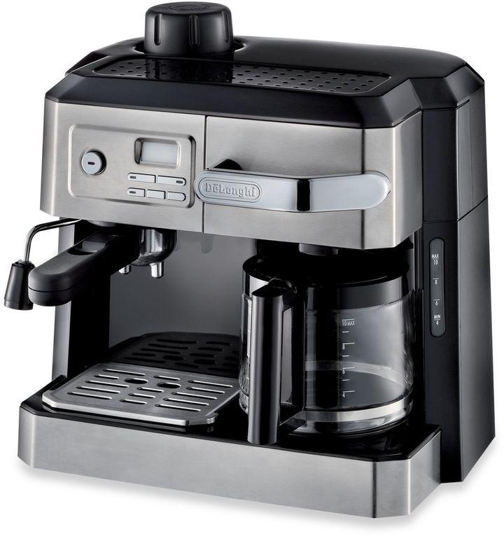 De'Longhi BCO330T Combination Steam Espresso Drip Coffee Cappuccino and Latte Machine in Silver