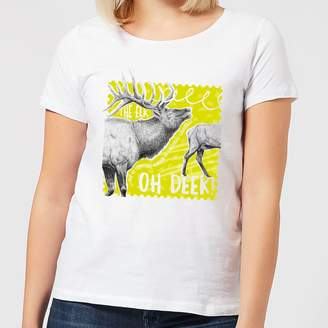 Oh Deer Natural History Museum Women's T-Shirt