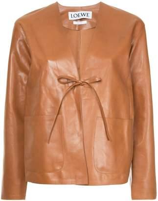 Loewe tie fastening jacket
