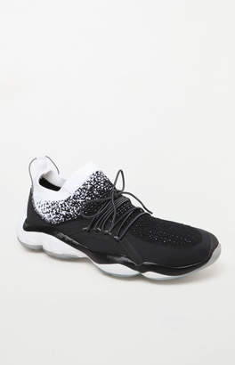 Reebok DMX Fusion HC Black & Silver Shoes