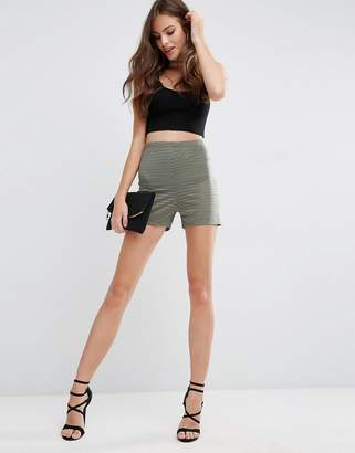 Asos Design Stripe Mesh Knicker Shorts