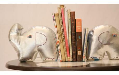 zid zid kids Book Ends - Elephant