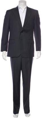 Corneliani 16.25 Micron Striped Wool Suit