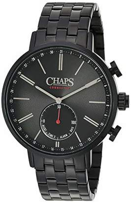 Chaps Men's Hybrid Smartwatch Watch with Stainless-Steel Strap