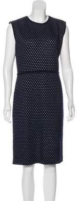 Leroy Veronique Wool-Blend Midi Dress