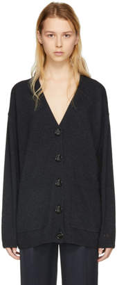 Acne Studios Grey Wool Lilou Cardigan