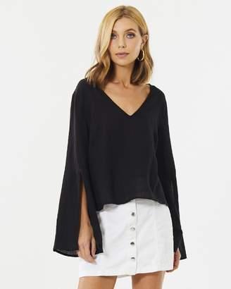 Athea Split-Sleeve Top