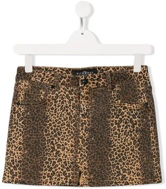 John Richmond Junior leopard print skirt