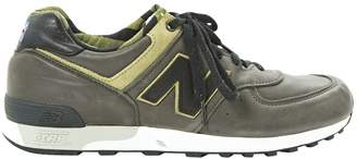 New Balance Leather low trainers