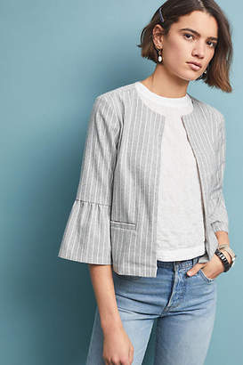 Cupcakes And Cashmere Susan Striped Jacket