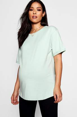 boohoo Maternity Basic T Shirt