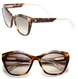 02f21b65513 Balenciaga 56MM Acetate Cat Eye Sunglasses