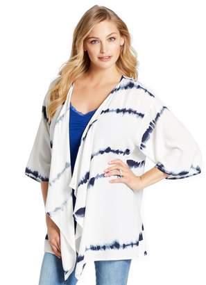 Jessica Simpson Motherhood Maternity Pull Down Tie Dye Nursing Cover