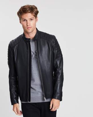 BOSS Jaysee Leather Jacket