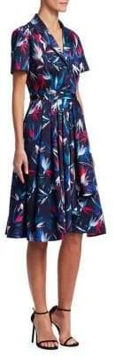 Jason Wu Printed Convertible A-Line Dress