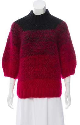 Maiyet Rib Knit Turtle Neck Top
