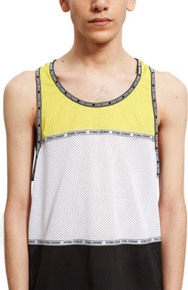 Opening Ceremony Coloblock Mesh Tank