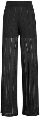 M Missoni Wide Leg Knit Pants