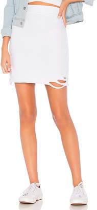 NSF x REVOLVE Adalia Destroyed Skirt