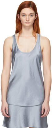 Alexander Wang Blue Wash and Go Tank Top