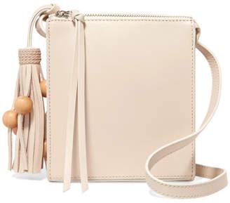 Elizabeth and James - Sara Tasseled Leather Shoulder Bag - Cream $365 thestylecure.com