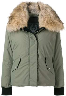 Belstaff fur-trim padded jacket