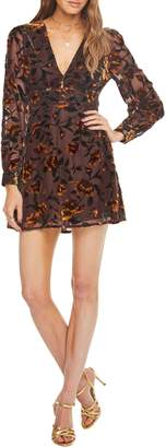 ASTR the Label Vivian Floral Burnout Dress