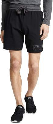 Emporio Armani Melange Terry Sweat Shorts