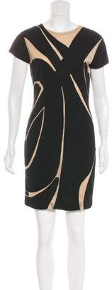 Yigal Azrouel Stretch Mini Dress