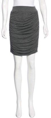 Jean Paul Gaultier Draped Knee-Length Skirt $80 thestylecure.com