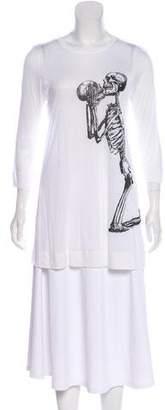 Thomas Wylde Long Sleeve Graphic T-Shirt