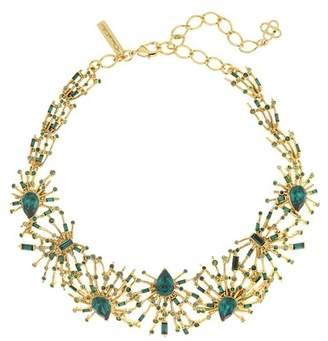 Oscar de la Renta Radial Crystal Necklace
