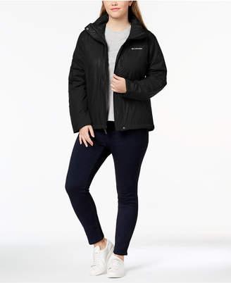 Columbia Plus Size Gotcha Groovin Water-Resistant Jacket
