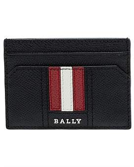 Bally Trainspotting 6Cc Credit Card Leather Wallet