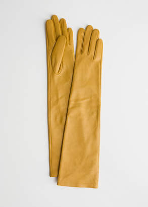 And other stories Long Leather Gloves