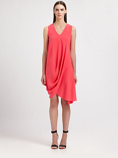 Zero Maria Cornejo Silk Opposite Dress