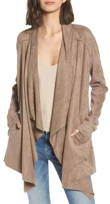 Blank NYC BLANKNYC Cloud Nine Drape Jacket