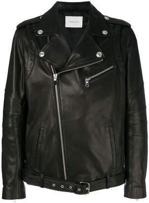 Pierre Balmain biker jacket