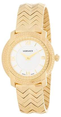 Versace Women's DV-35 Swiss Quartz Bracelet Watch, 36mm